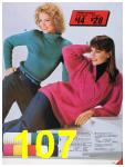 1986 Sears Fall Winter Catalog, Page 107