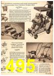 1960 Sears Fall Winter Catalog, Page 495