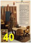 1962 Sears Spring Summer Catalog, Page 40