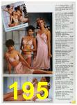 1985 Sears Spring Summer Catalog, Page 195