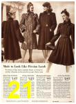 1940 Sears Fall Winter Catalog, Page 21
