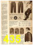1958 Sears Fall Winter Catalog, Page 435