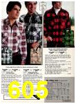 1978 Sears Fall Winter Catalog, Page 605
