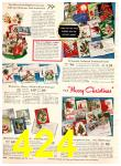 1952 Sears Christmas Book, Page 424