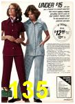 1975 Sears Fall Winter Catalog, Page 135