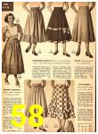 1949 Sears Spring Summer Catalog, Page 58