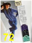 1985 Sears Fall Winter Catalog, Page 72