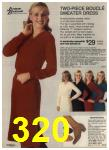 1980 Sears Fall Winter Catalog, Page 320
