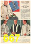 1962 Sears Fall Winter Catalog, Page 667