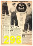 1942 Sears Spring Summer Catalog, Page 298