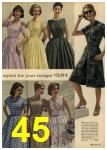1961 Sears Spring Summer Catalog, Page 45