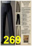 1980 Sears Fall Winter Catalog, Page 269