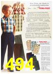 1967 Sears Spring Summer Catalog, Page 494