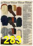 1980 Sears Fall Winter Catalog, Page 283