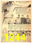 1940 Sears Fall Winter Catalog, Page 1244