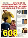 1971 Sears Fall Winter Catalog, Page 608