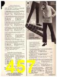 1969 Sears Fall Winter Catalog, Page 457