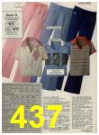 1979 Sears Spring Summer Catalog, Page 437