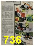 1984 Sears Spring Summer Catalog, Page 736
