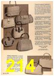 1964 Sears Spring Summer Catalog, Page 214