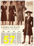 1942 Sears Spring Summer Catalog, Page 57