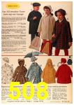 1963 Sears Fall Winter Catalog, Page 508