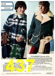 1975 Sears Fall Winter Catalog, Page 437