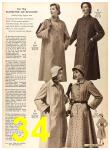 1956 Sears Fall Winter Catalog, Page 34