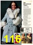 1974 Sears Fall Winter Catalog, Page 116