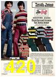 1975 Sears Fall Winter Catalog, Page 420