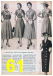 1957 Sears Spring Summer Catalog, Page 61