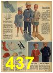1962 Sears Spring Summer Catalog, Page 437