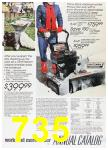 1988 Sears Fall Winter Catalog, Page 735