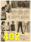 1960 Sears Spring Summer Catalog, Page 402