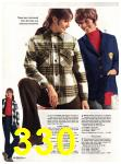 1971 Sears Fall Winter Catalog, Page 330