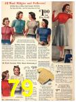 1940 Sears Fall Winter Catalog, Page 79
