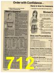 1974 Sears Fall Winter Catalog, Page 712