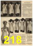 1961 Sears Spring Summer Catalog, Page 218
