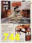 1987 Sears Fall Winter Catalog, Page 744