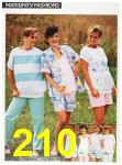 1987 Sears Spring Summer Catalog, Page 210