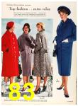 1958 Sears Fall Winter Catalog, Page 83