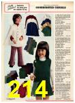 1973 Sears Fall Winter Catalog, Page 214