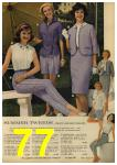 1961 Sears Spring Summer Catalog, Page 77