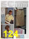 1985 Sears Spring Summer Catalog, Page 124