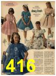 1962 Sears Spring Summer Catalog, Page 416