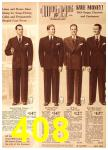 1940 Sears Fall Winter Catalog, Page 408