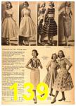 1958 Sears Spring Summer Catalog, Page 139