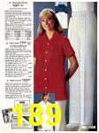 1981 Sears Spring Summer Catalog, Page 189