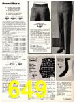 1978 Sears Fall Winter Catalog, Page 649