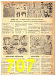 1949 Sears Spring Summer Catalog, Page 707